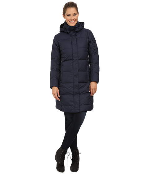 Patagonia Down With It Parka Navy Blue Women Clothing
