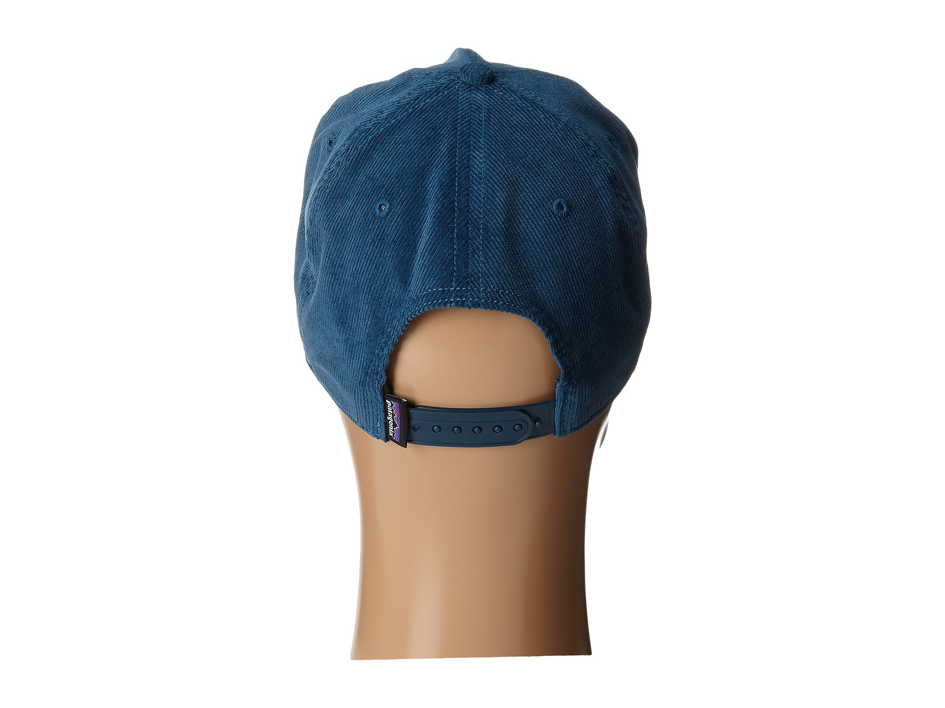 5913e0fece6 Patagonia Pinstripe Flying Fish Corduroy Hat Crater Blue on PopScreen