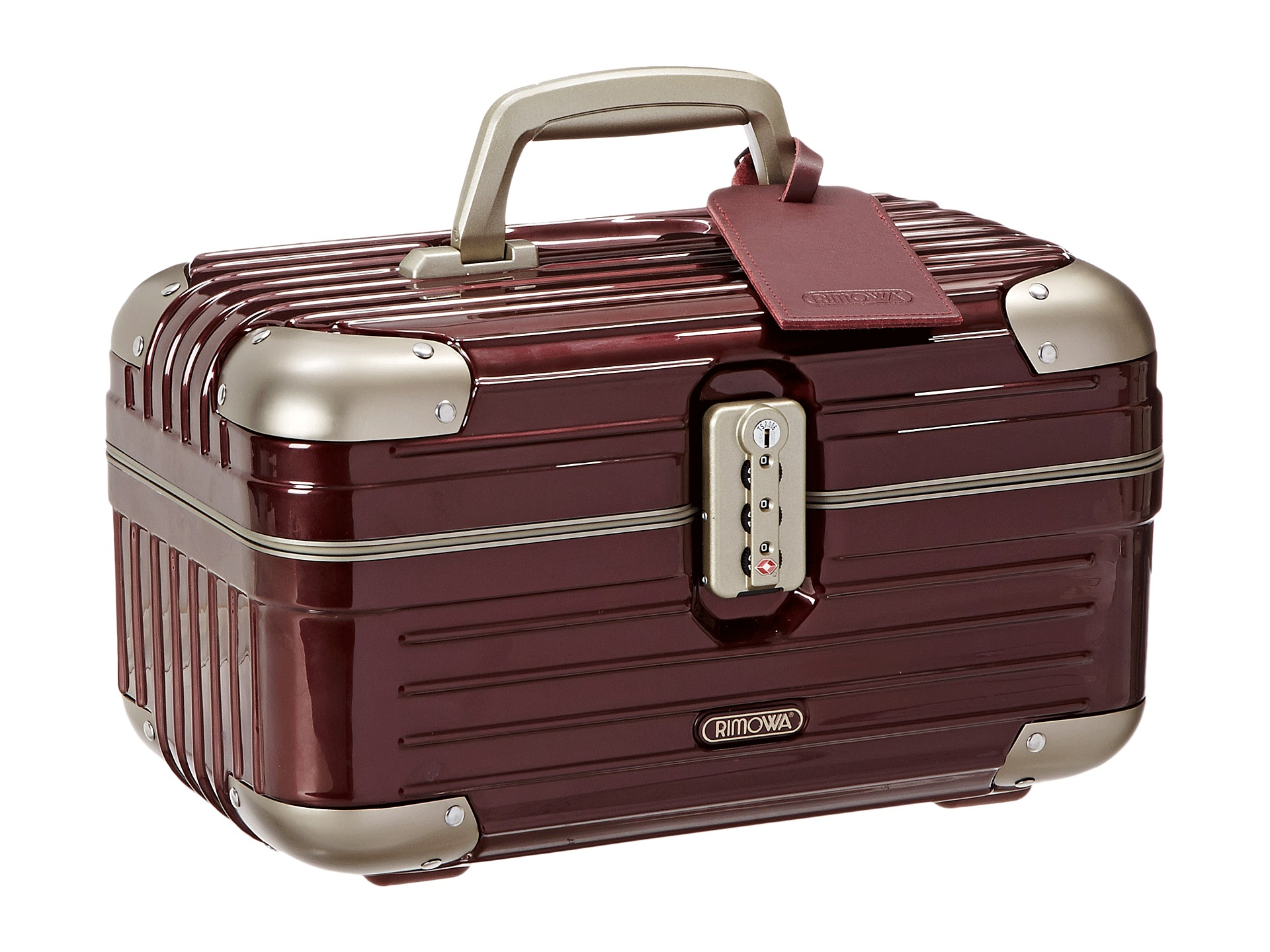 rimowa limbo beauty case carmona red free shipping both ways. Black Bedroom Furniture Sets. Home Design Ideas