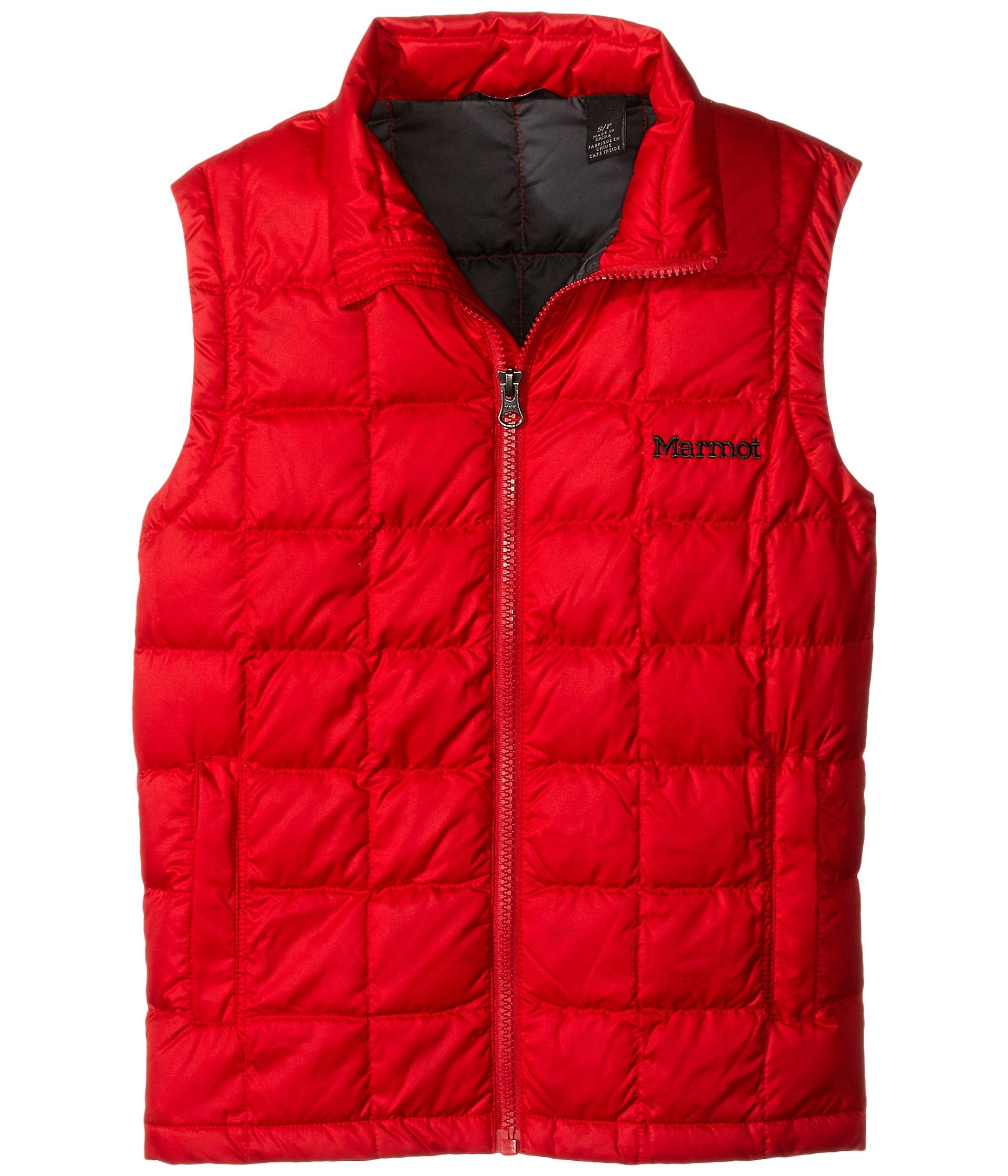 f5eb7bcf1a6d Marmot Kids Ajax Vest (Little Kids Big Kids) Team Red on PopScreen