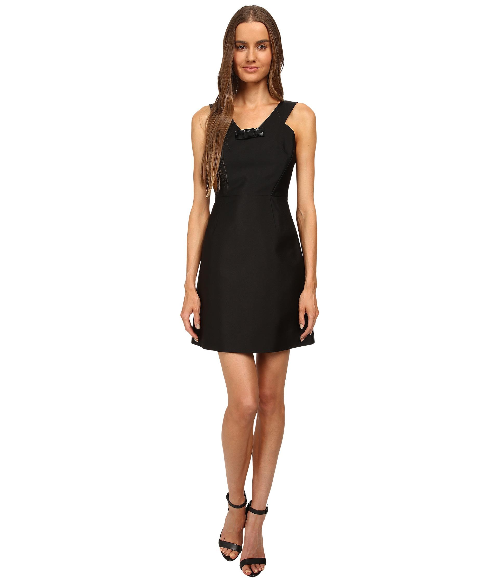 c8f0ea2d74f Kate Spade New York Pave Mini Bow Dress Black on PopScreen