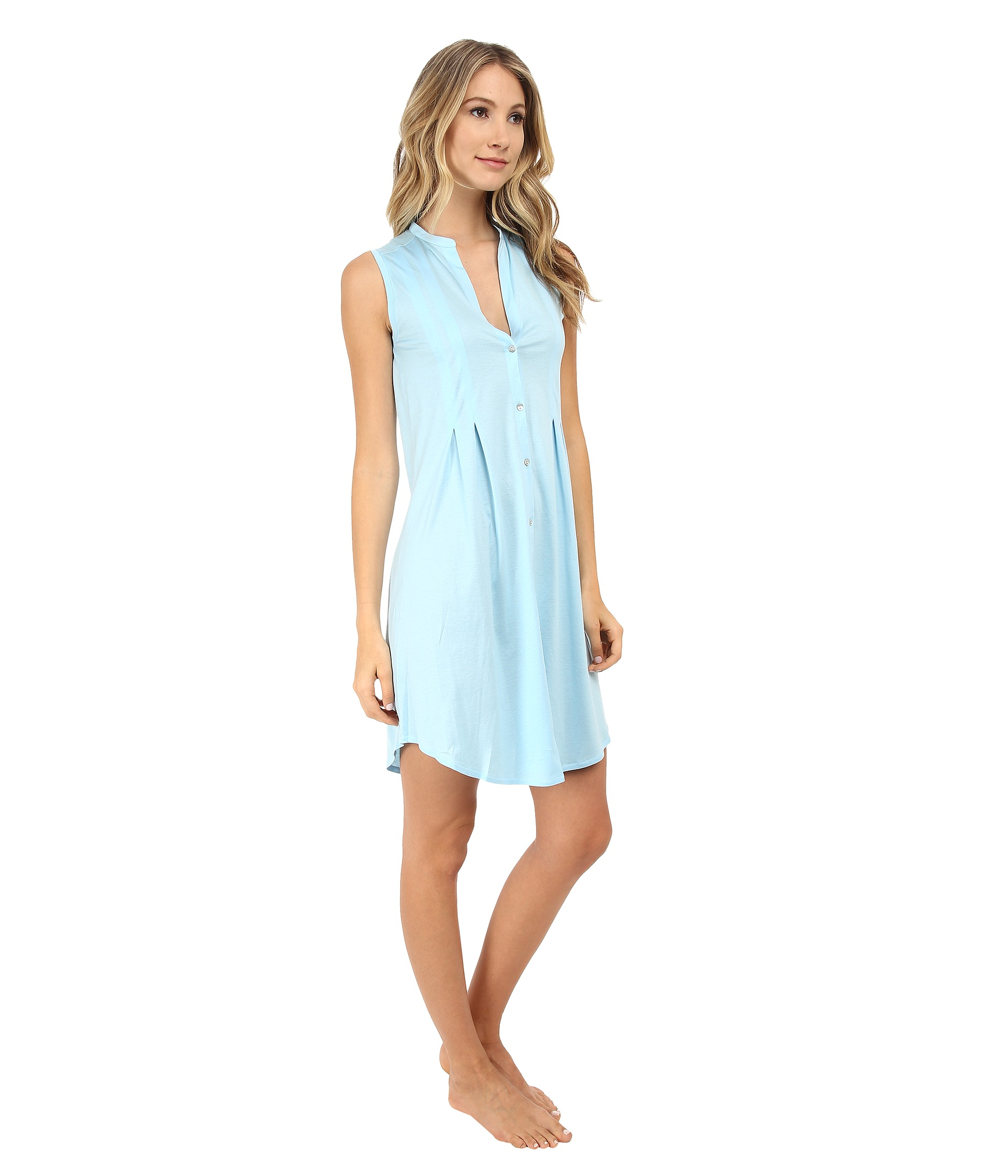 Ultra soft and comfortable fabric, V neck button front nightgown. Ekouaer Women's Sleep Dress Short Sleeve Nightshirt Ultra-Soft Sleepwear Nightgown. by Ekouaer. $ - $ $ 19 $ 21 99 Prime. FREE Shipping on eligible orders. Some sizes/colors are Prime eligible. out of 5 stars