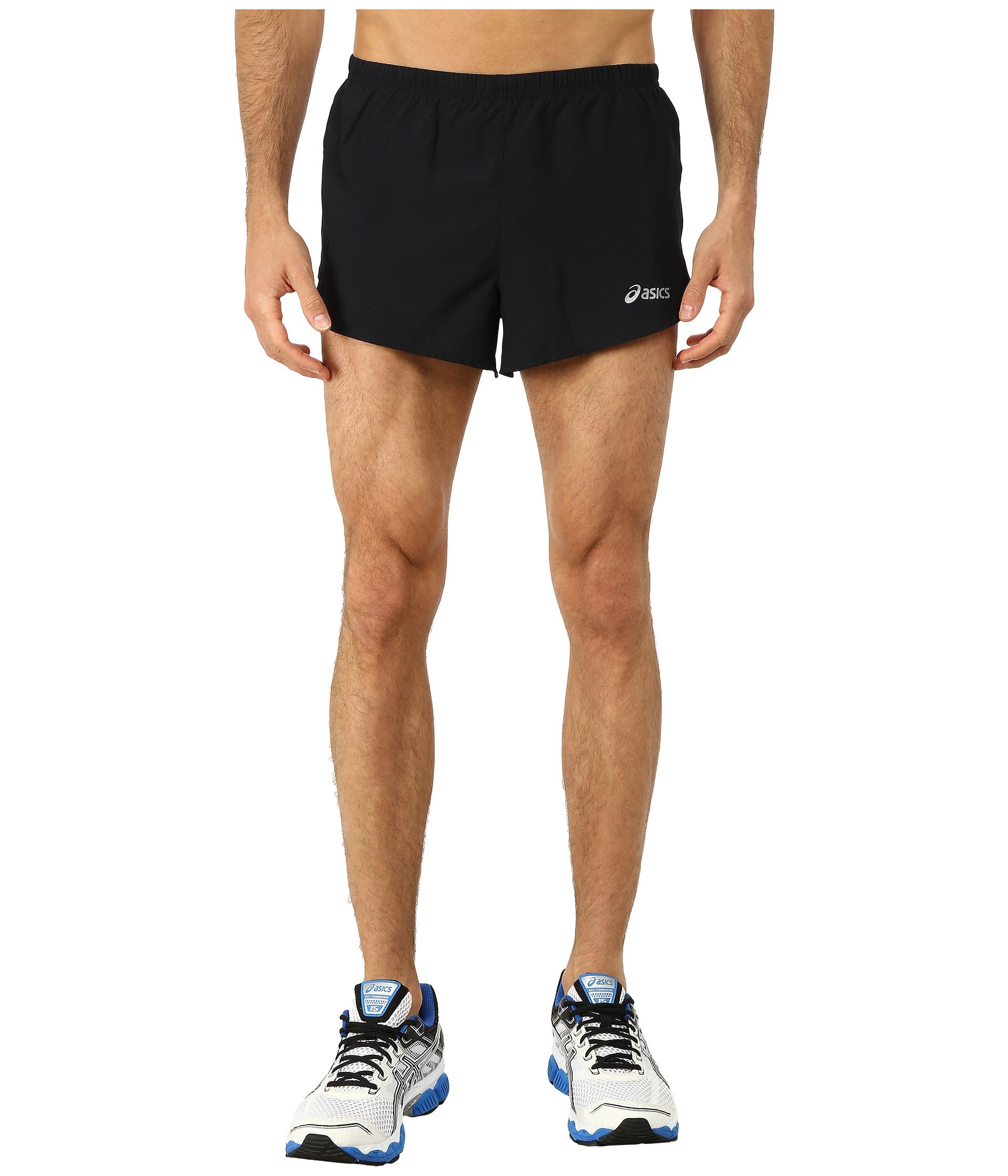 asics motion dry shorts