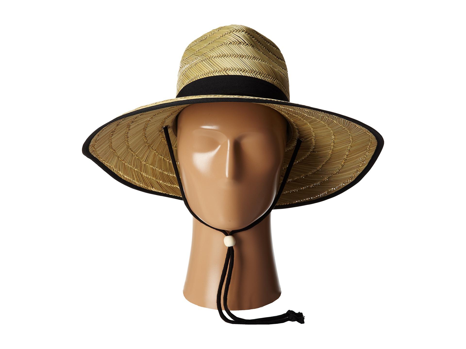 ec1cc03a2094a San Diego Hat Company RSL5556 Rush Straw Lifeguard w  Band and Chin Cord -  Zappos.com Free Shipping BOTH Ways