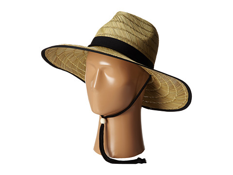 184628b772963 San Diego Hat Company RSL5556 Rush Straw Lifeguard w  Band and Chin Cord