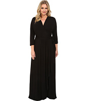 Brigitte Bailey Jamie Wrap Maxi Dress Women Shipped