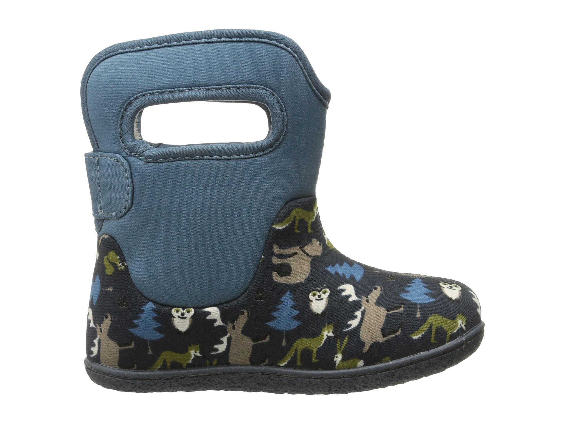 Bogs Kids Classic Woodland Toddler Navy Multi Zappos