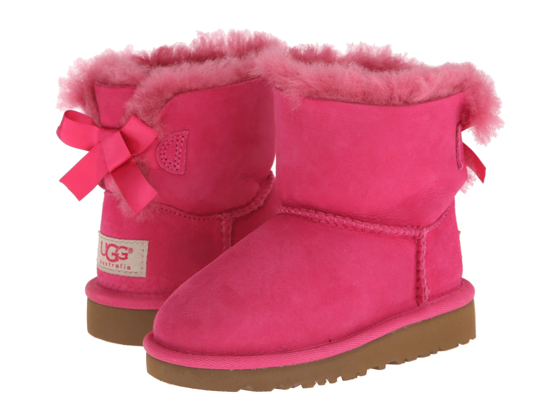 Baby Pink Bailey Bow Uggs Division Of Global Affairs