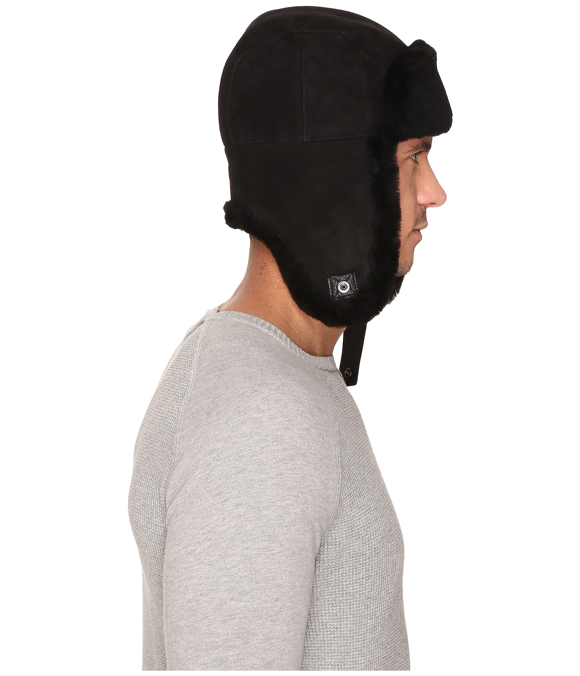 dbc47ea14 Ugg Trapper Hat Black