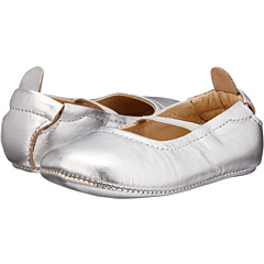 Old Soles Luxury Ballet Flat Infant Toldder Silver