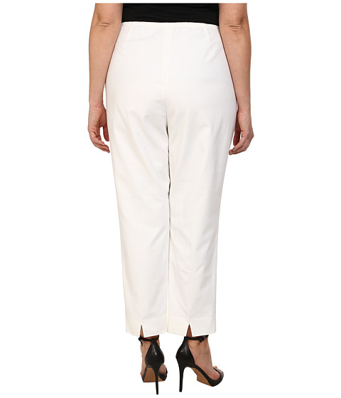 Nic Zoe Plus Size Perfect Side Zip Ankle Pants 6pm Com
