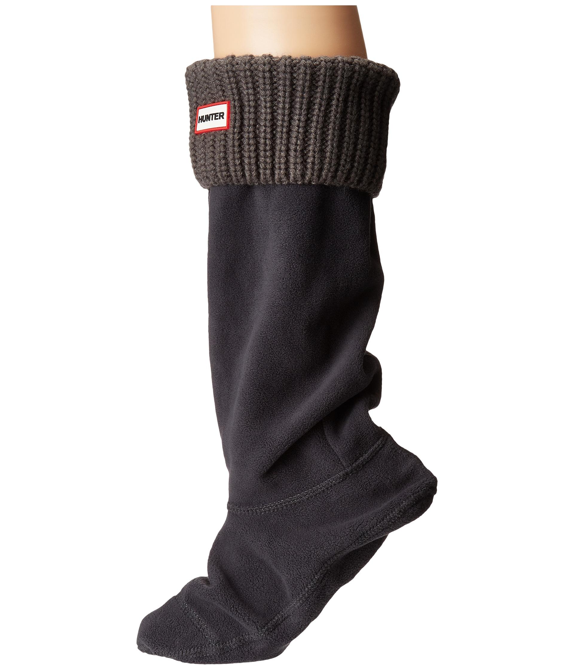 Hunter Half Cardigan Boot Socks Zappos Com Free Shipping