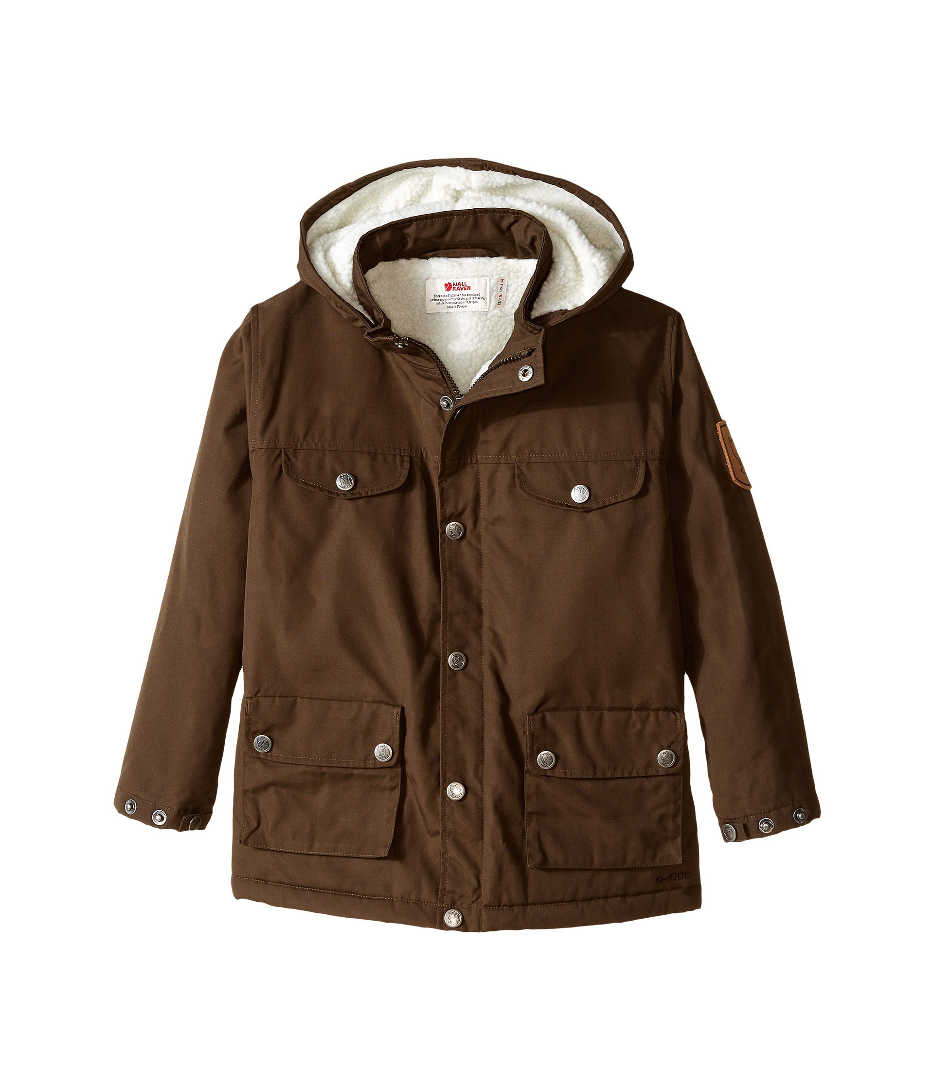 686fa4b51402 Fjällräven Kids Kids Greenland Winter Jacket Dark Olive