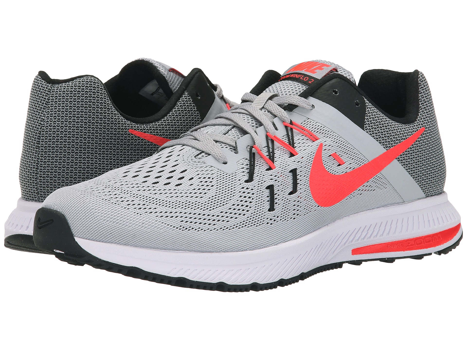 ... peach pink grey women running shoes sneakers 7164a c62e1 promo code for nike  zoom winflo 3 wolf grey 93141 a44a9 ... 25bc937dd