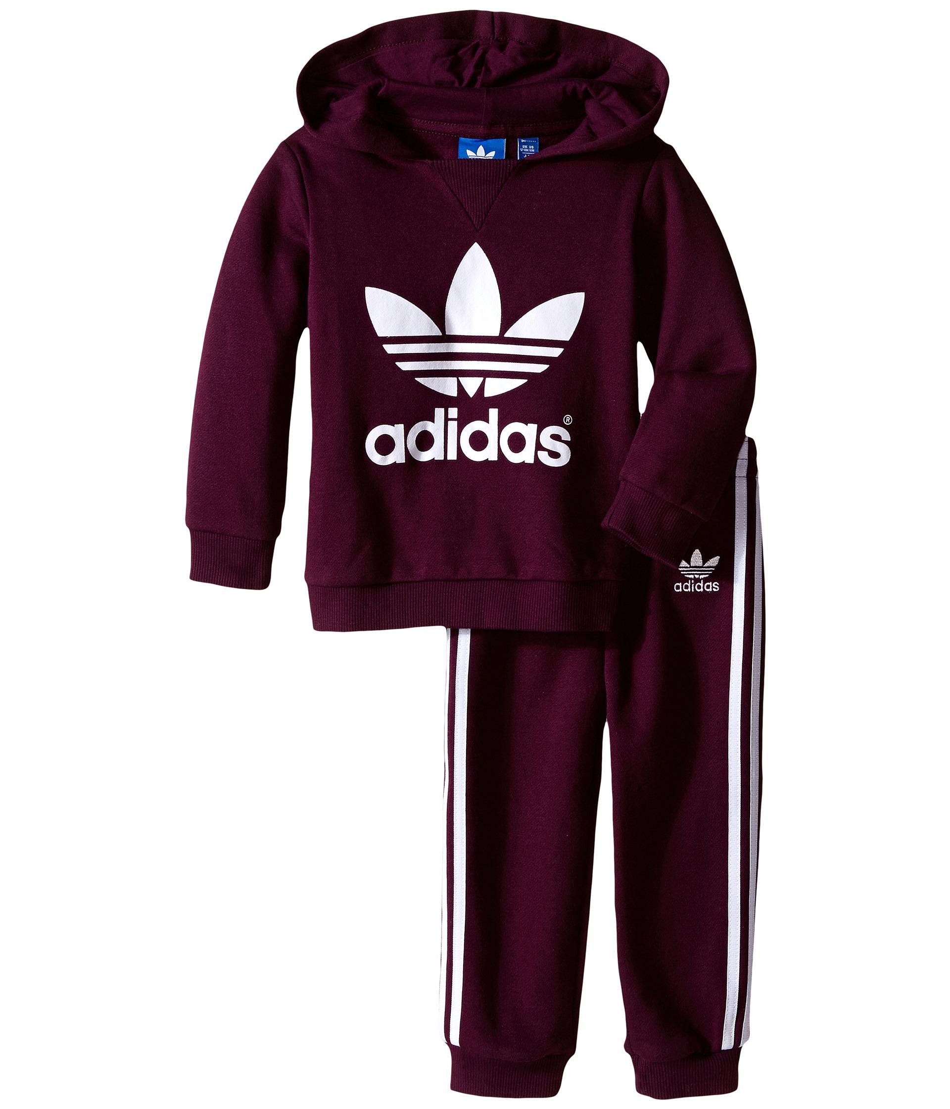 adidas Originals Kids Trefoil Set (Infant/Toddler ...