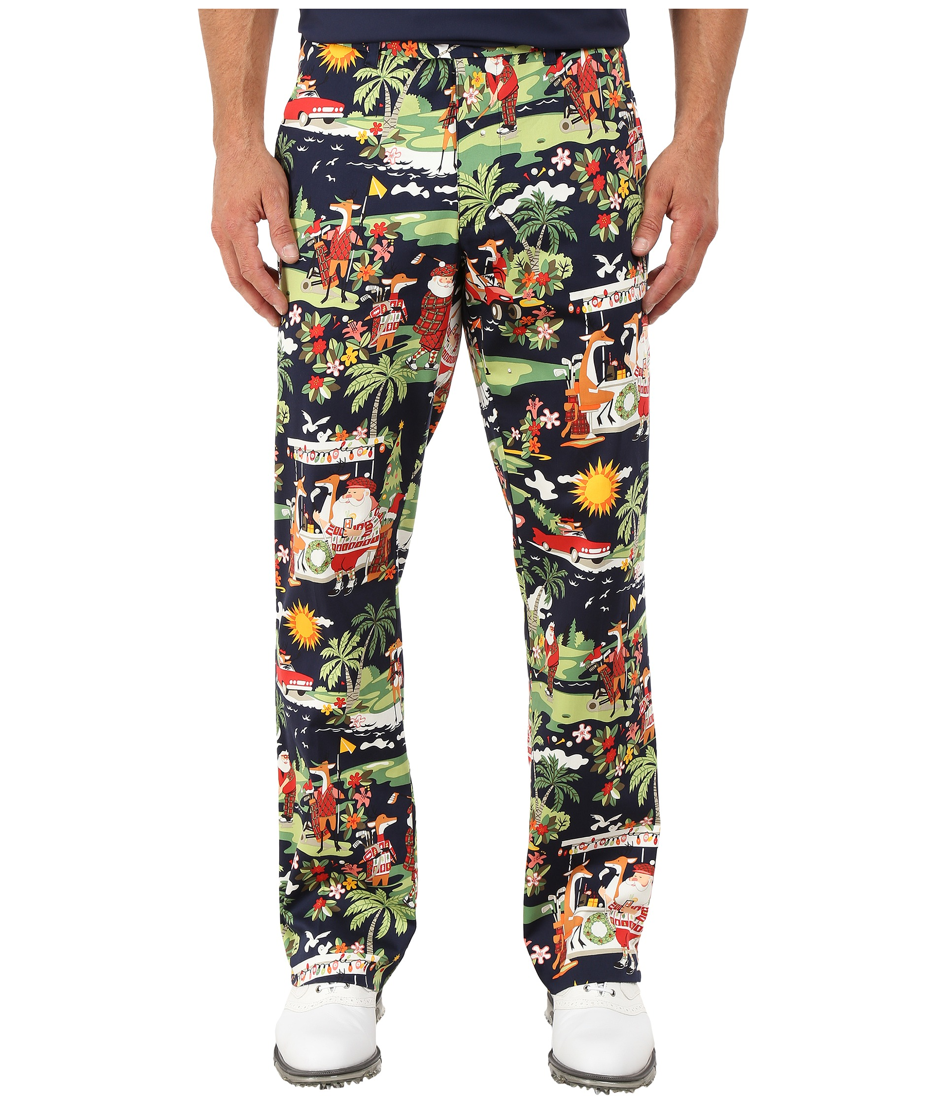 8d111ab38 ... Clothing Loudmouth Gloves: Loudmouth Golf Golfin Santa Pants