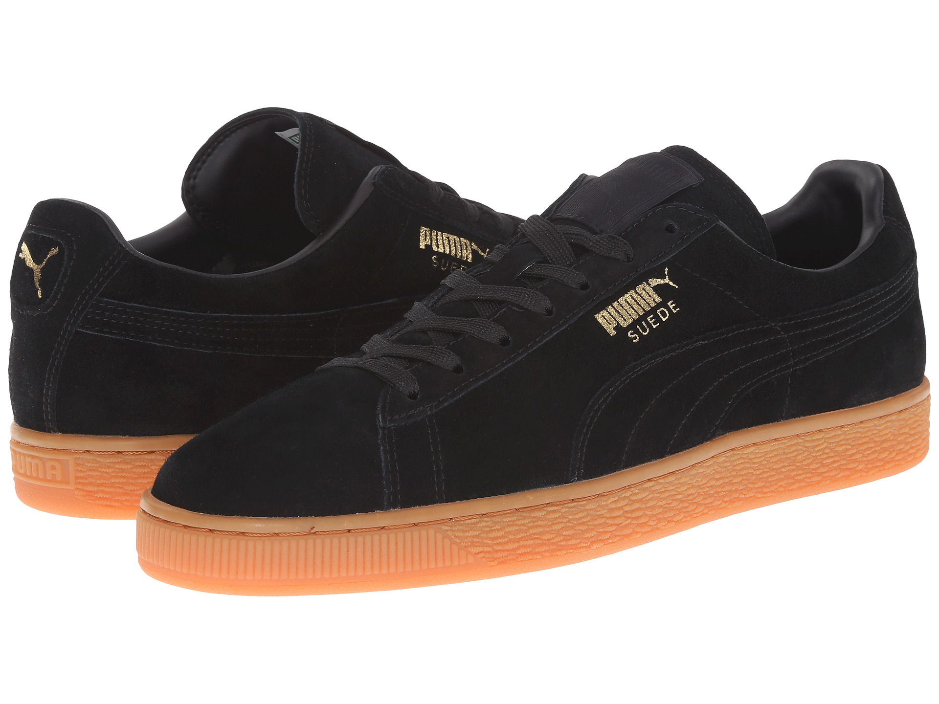9d2be8154 puma suede classic black trainers cheap > OFF42% Discounted