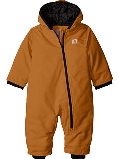 Carhartt Kids Quick Duck 174 Snowsuit Infant Carhartt Brown