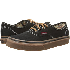 f682da022488a4 1Sale Vans Kids Authentic (Little Kid Big Kid) (T G) Black Gum ...