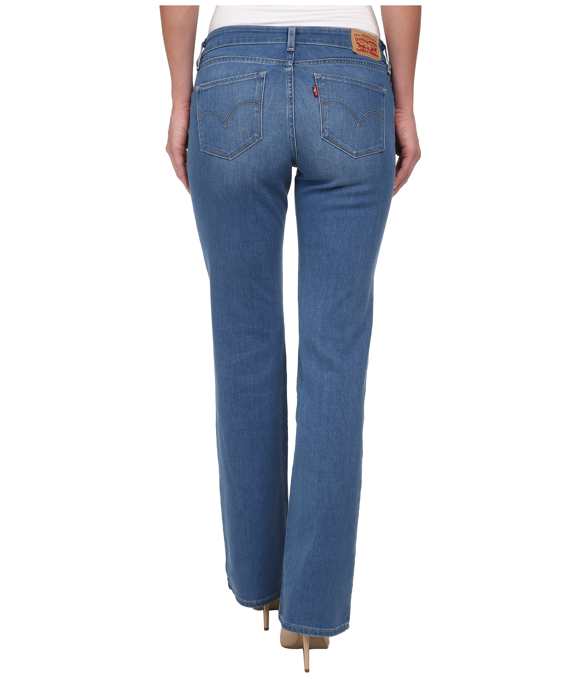Ann Taylor LOFT Curvy Trouser Jeans in Dark Rinse ($) If you want to do a slim-fit,