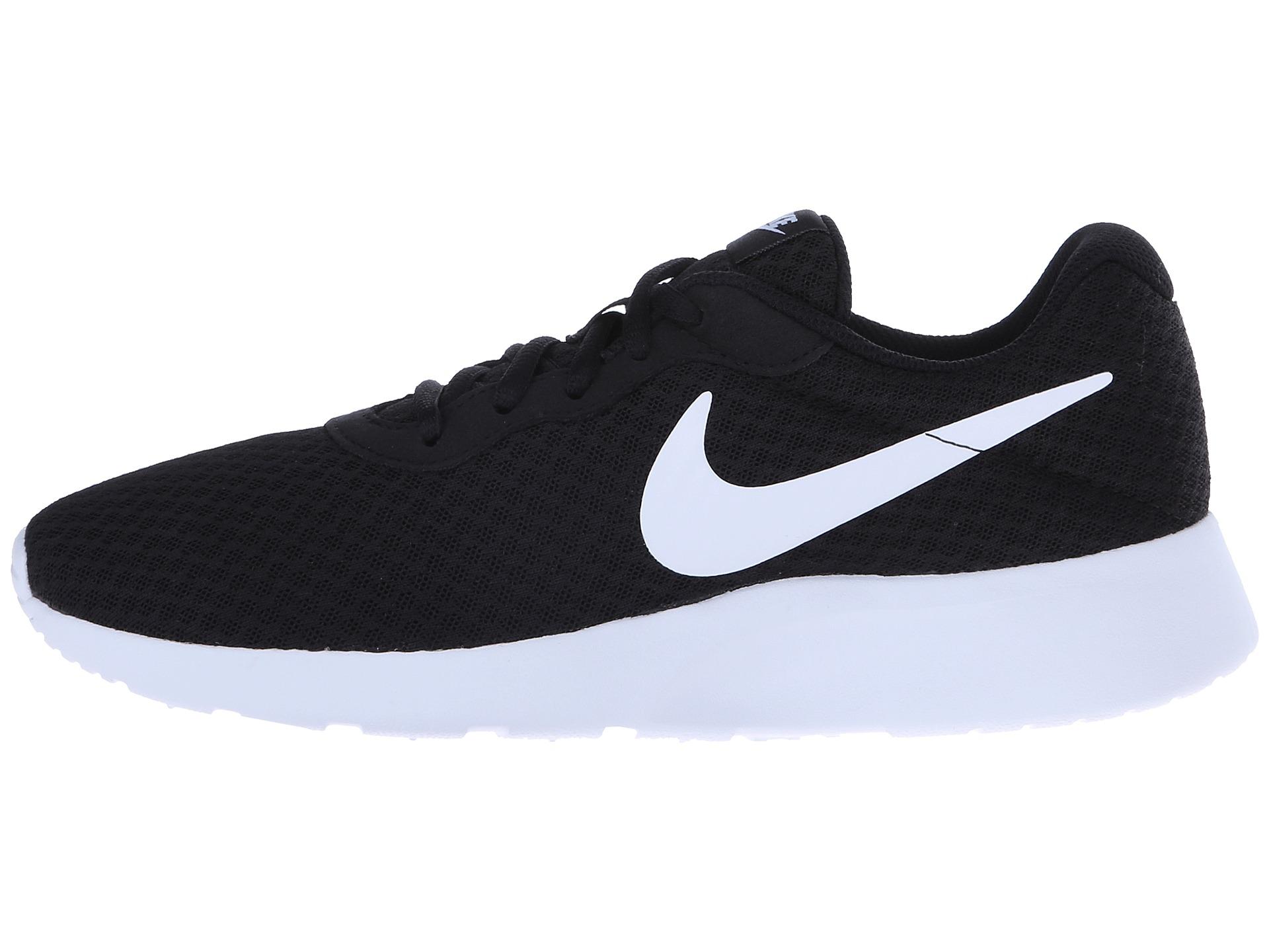 Nike Tanjun Women S Athletic Shoes White And Black