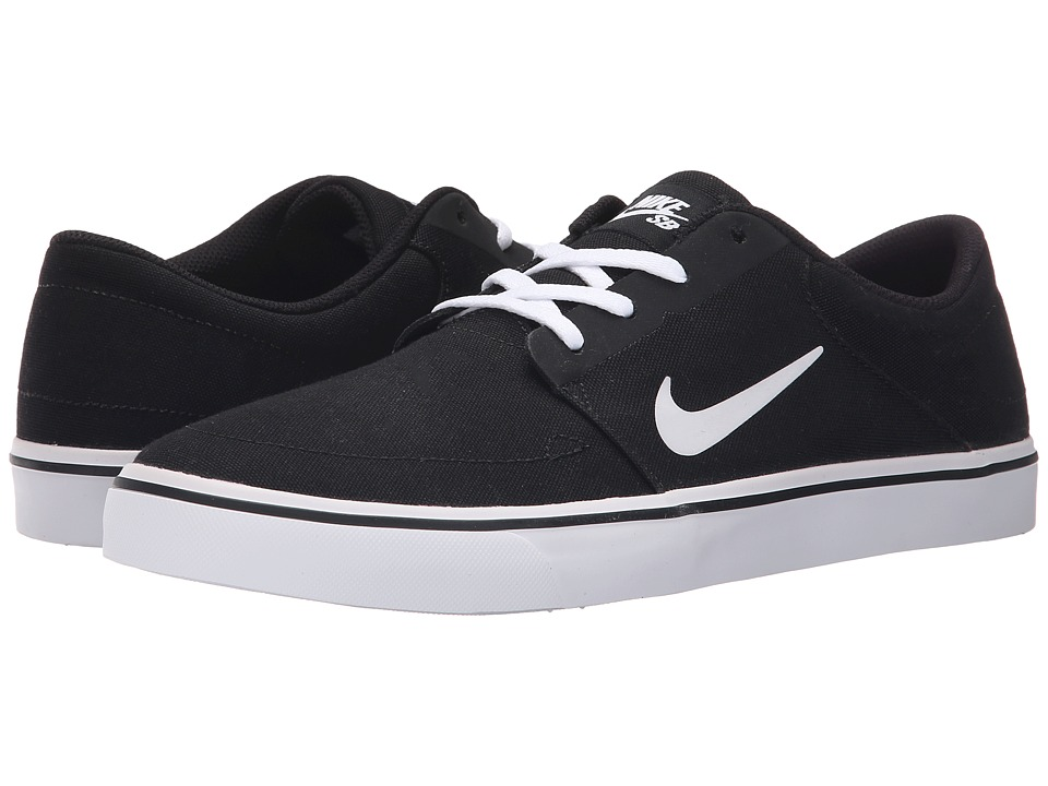 76bac1ebf6a7 ... UPC 886066292784 product image for Nike SB - Portmore Canvas  (Black White 2) UPC 886066292784 product image for Nike Men s SB Portmore  Cnvs Skate ...