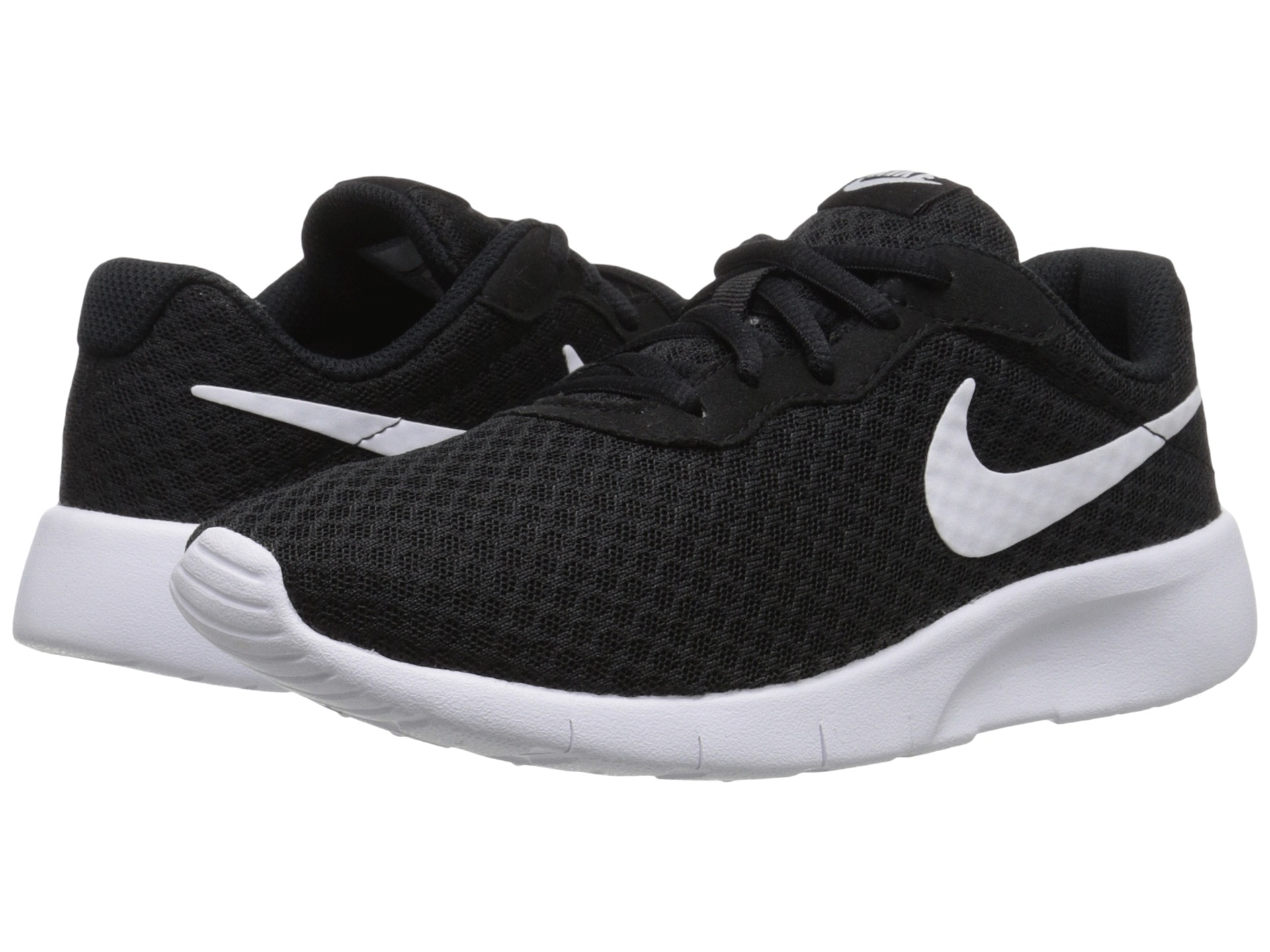 Nike Tanjun Women S Athletic Shoes White And Black