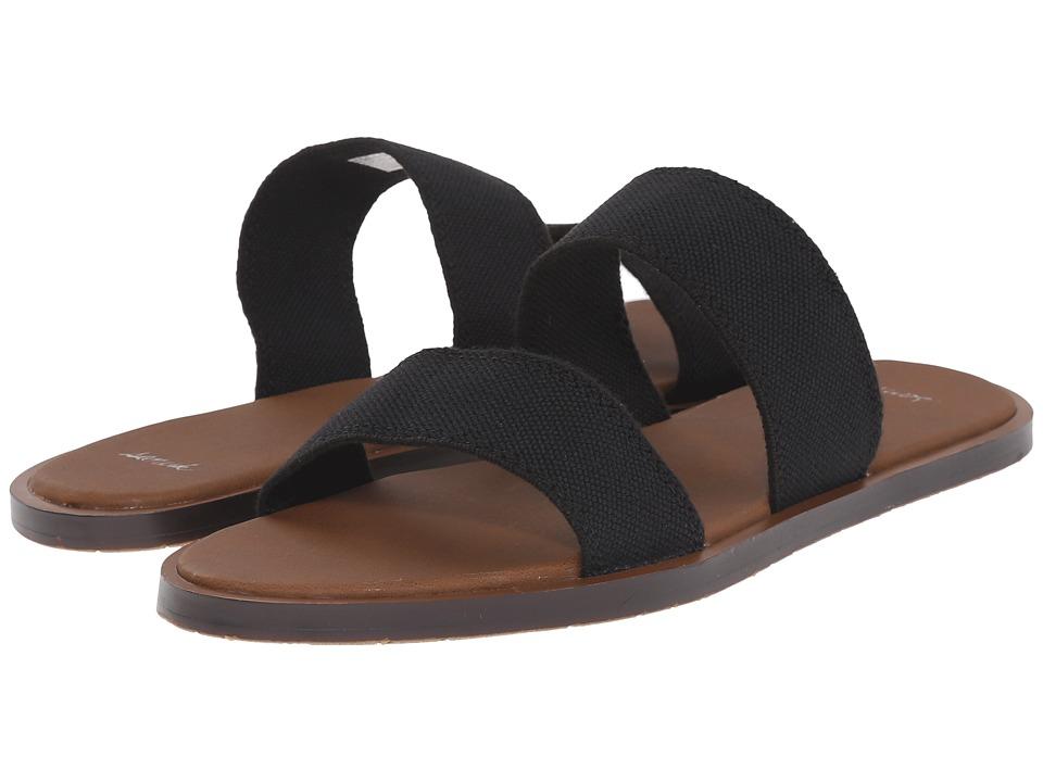 c0f2c6516a740  32.00 More Details · Sanuk - Yoga Gora Gora (Black) Women s Sandals