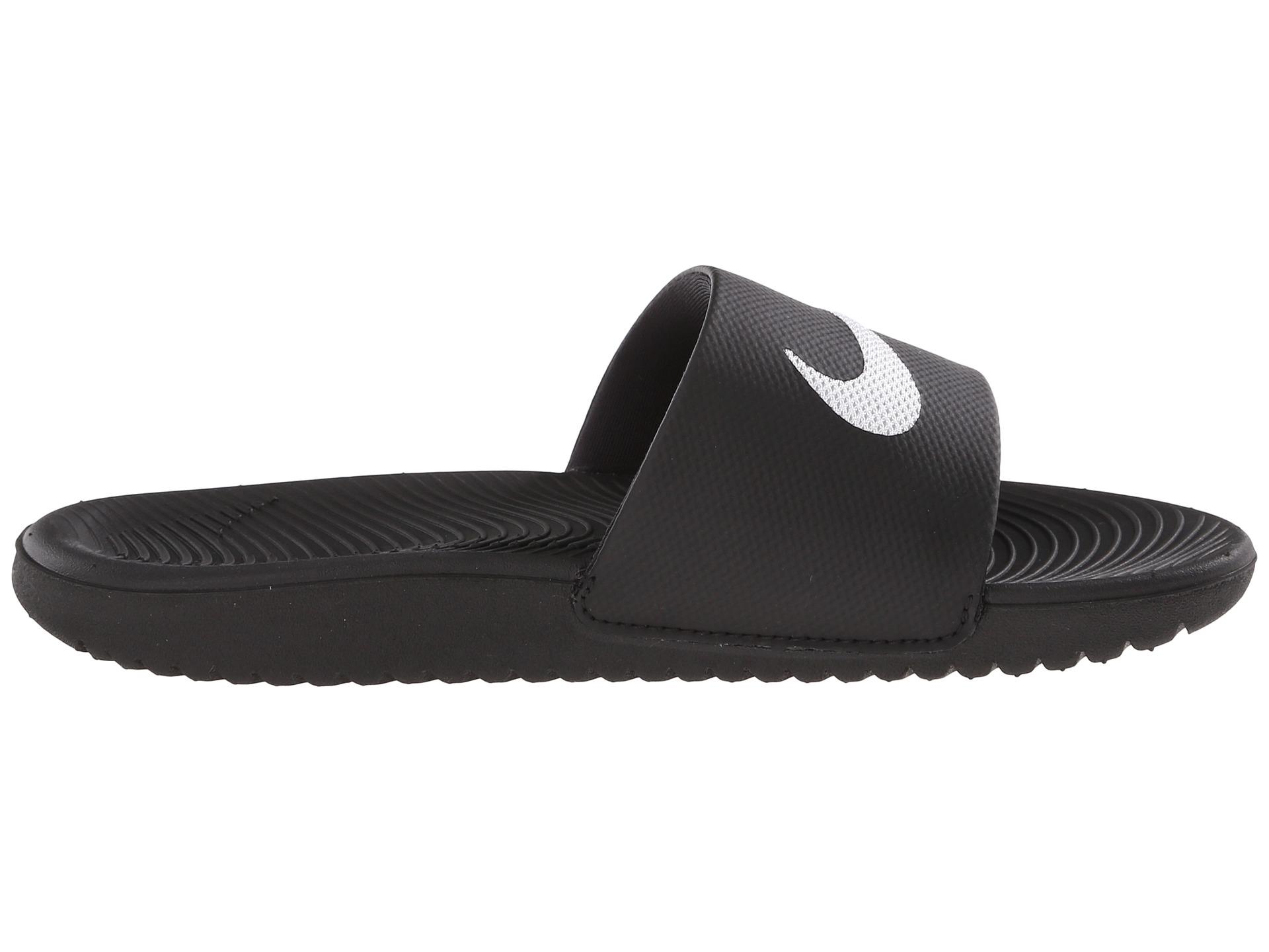 Nike Kids Kawa Slide Little Kid Big Kid At Zappos Com