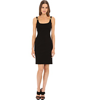 Bcbgeneration Sleeveless V Neck Dress Black Clothing
