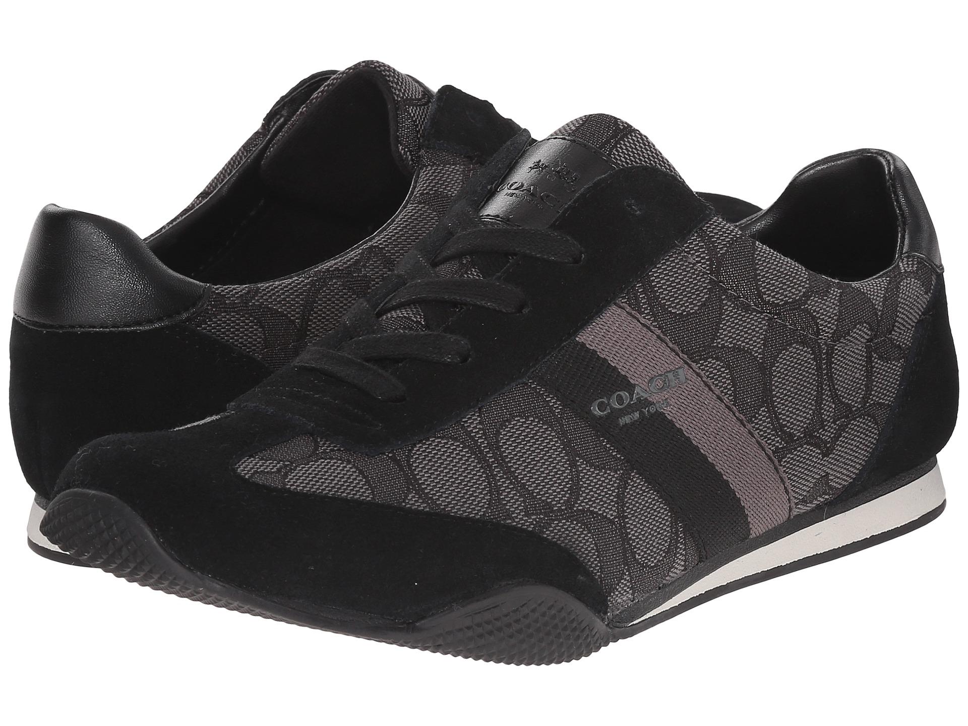 coach tennis shoes black ,coach purse pink