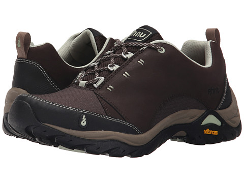 Ahnu Montara Breeze Hiking Shoes Waterproof Leather Size