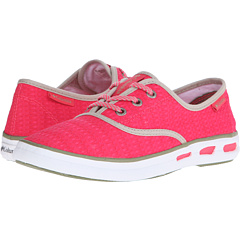 Columbia Vulc N Vent Lace Canvas Ii Laser Red Cool Moss