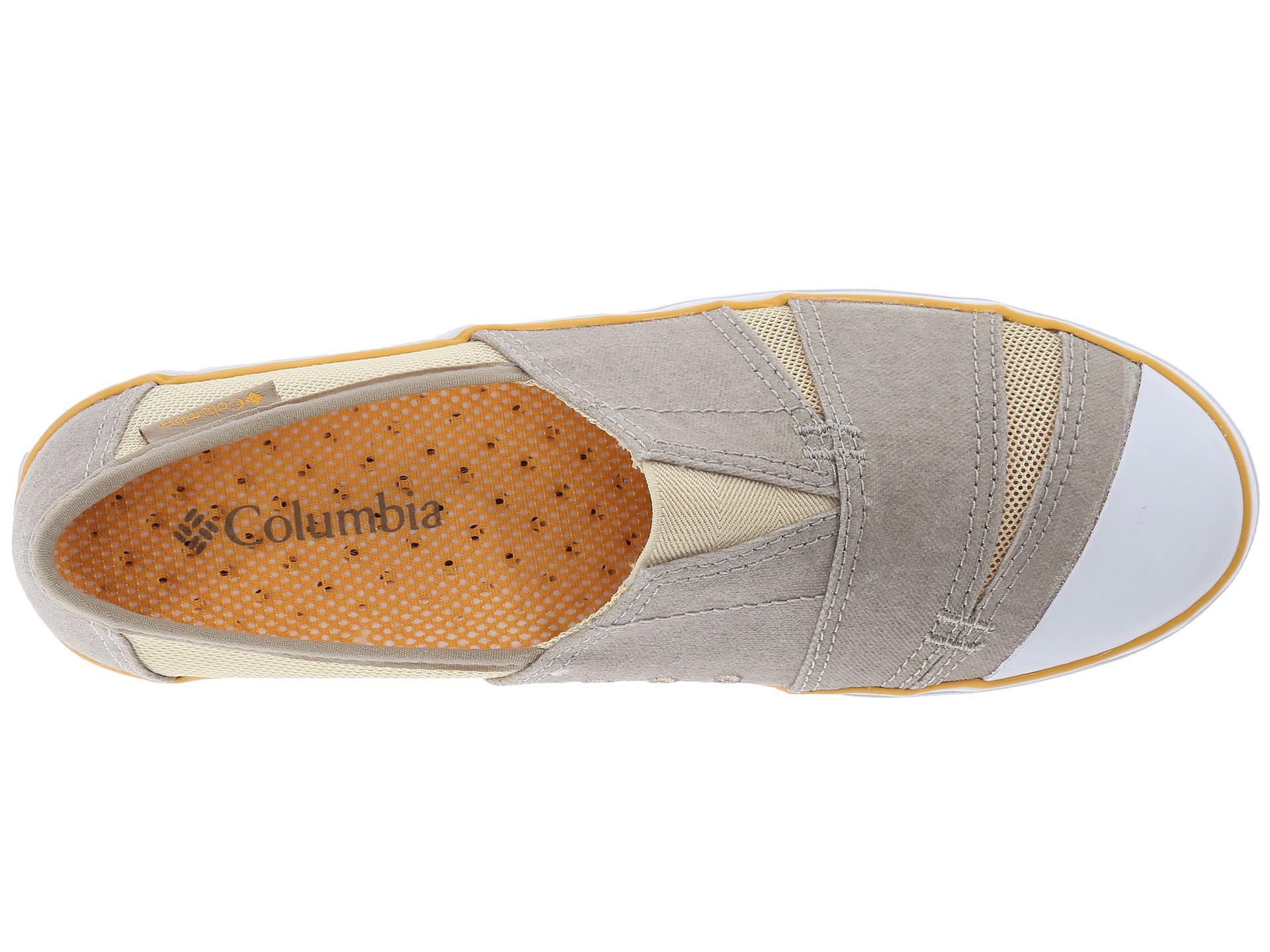 Columbia Vulc N Vent Slip Light Grey Candy Mint Zappos