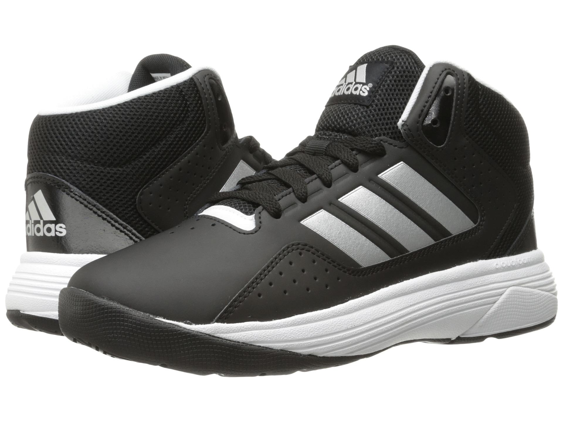 Adidas Cloudfoam Ilation Mid Men S Leather Basketball Shoes