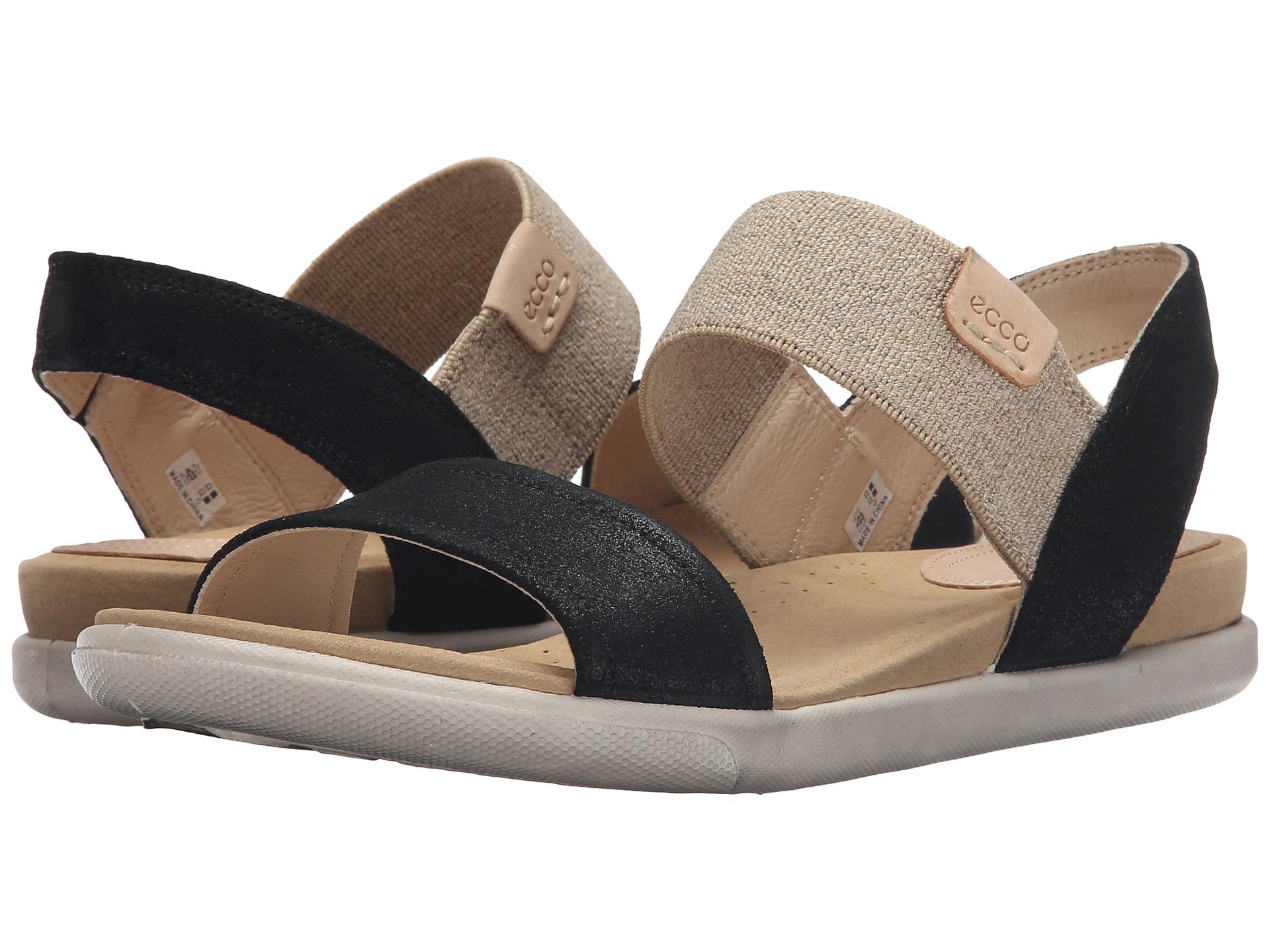 eda5aa89120 ECCO Damara Ankle Sandal Black on PopScreen