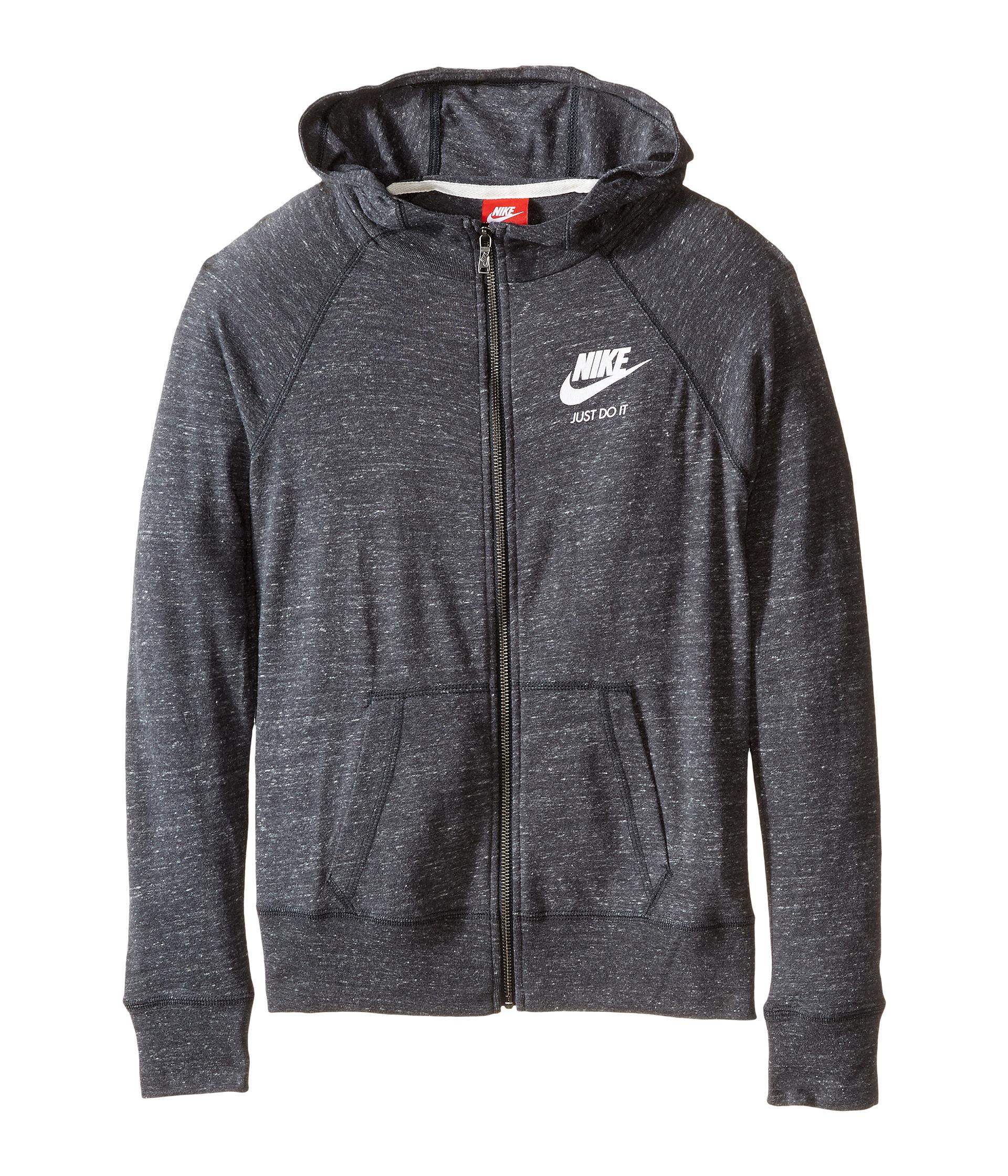 Nike Kids Gym Vintage Full Zip Hoodie (Little Kids/Big ...