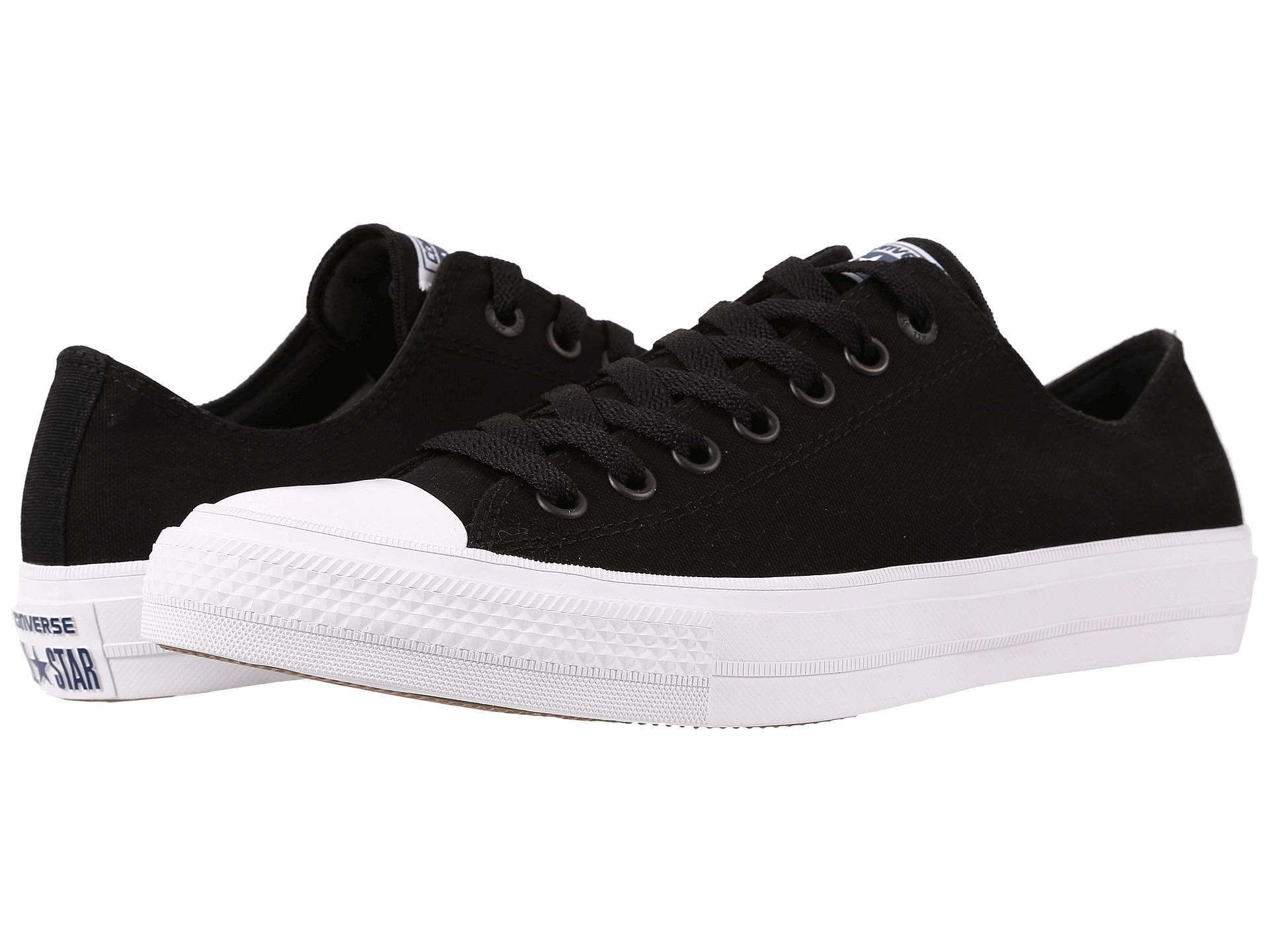 Converse All Star High Top Black Shoe White Logo