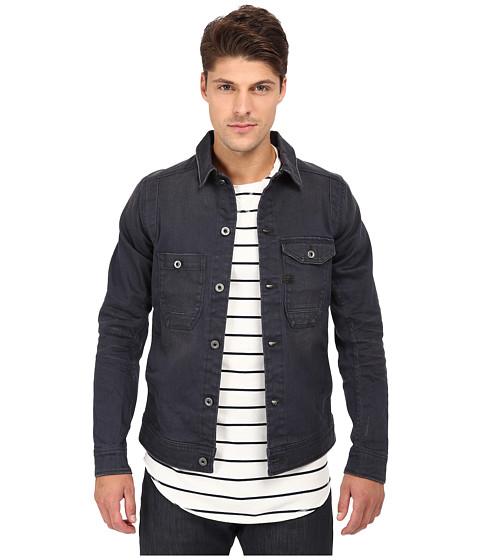G Star Wolker 3d Slim Jacket In Cirus Grey Stretch Denim