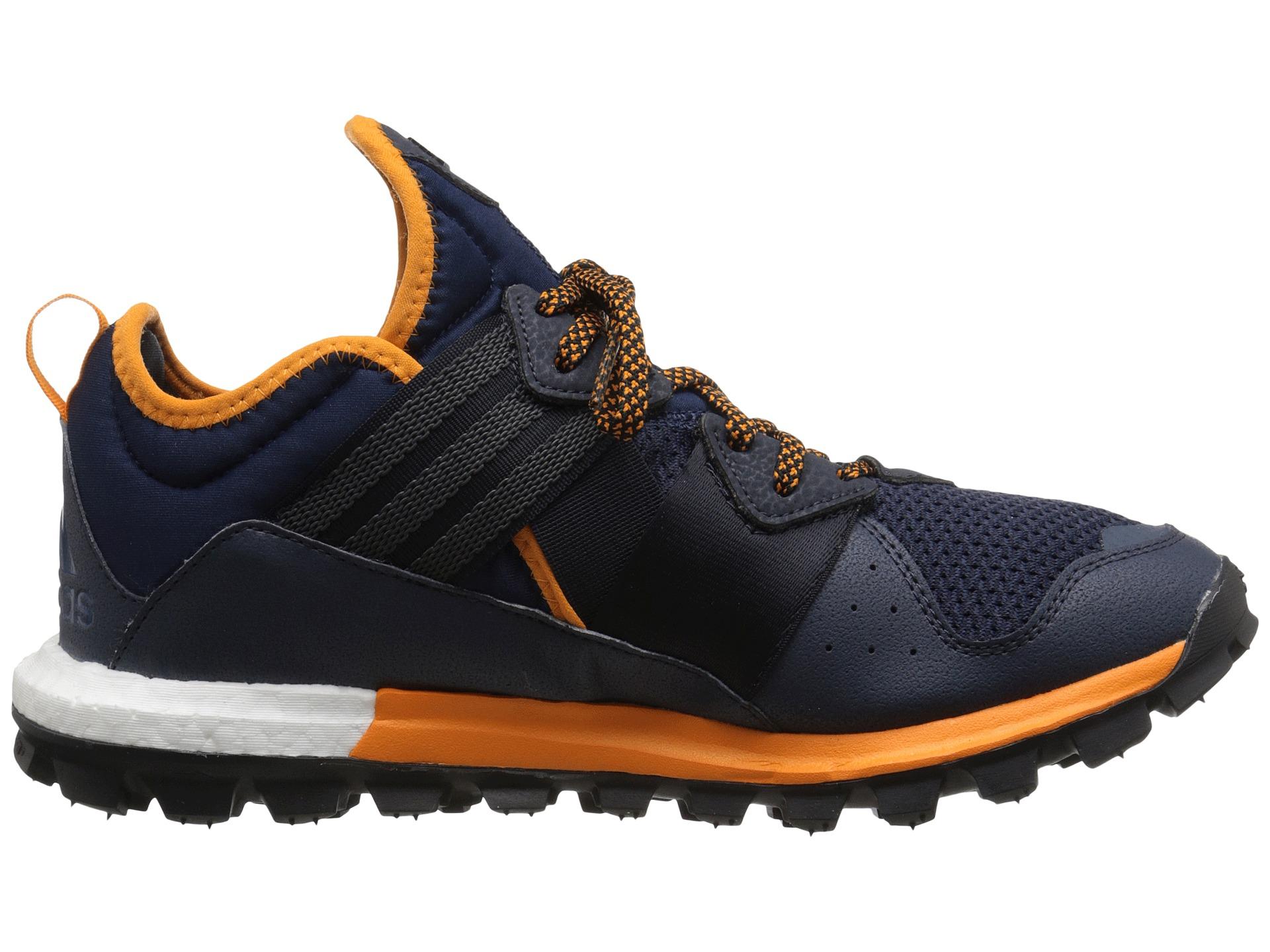 1422209e0 Adidas Running Response Trail Boost Collegiate Navy Mineral Blue Eqt  Orange