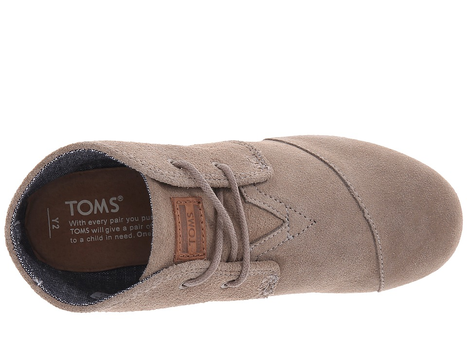 8852a95ed59 TOMS Kids Desert Wedge Bootie Kids Shoes