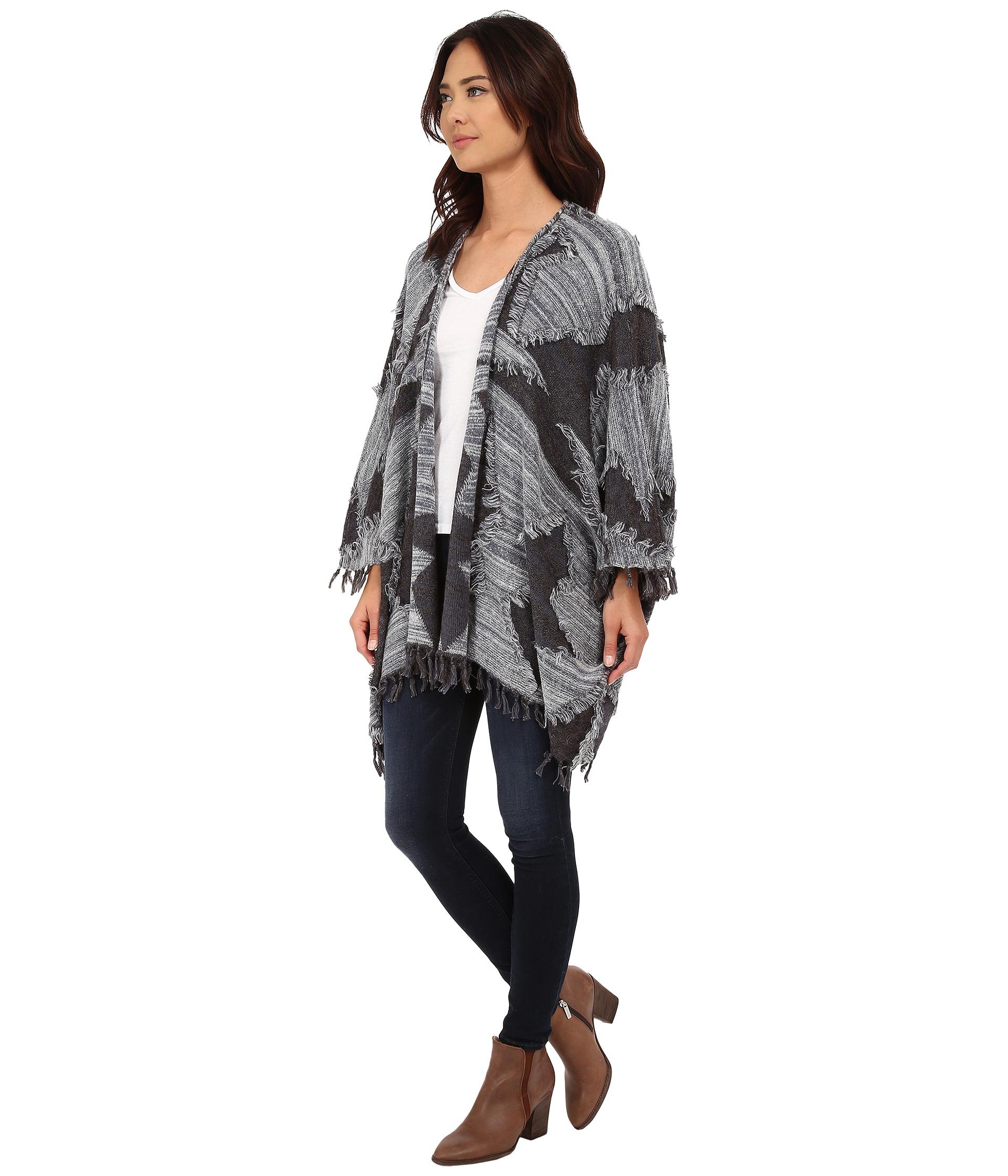 Chaser Baja Blanket Sweater Kimono at Zappos.com