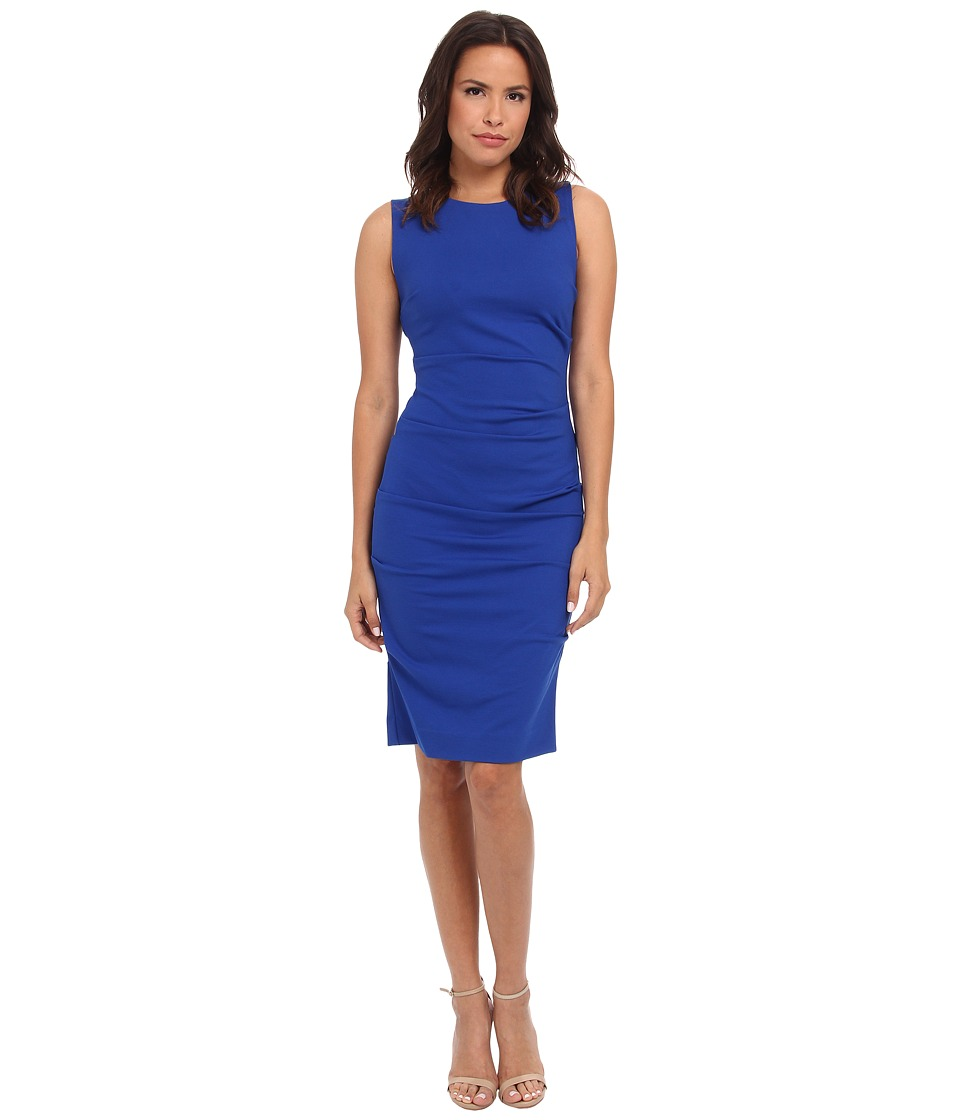 665a33f8b0  294.00 More Details · Nicole Miller - Lauren Ponte Dress (Blue) Women s  Dress