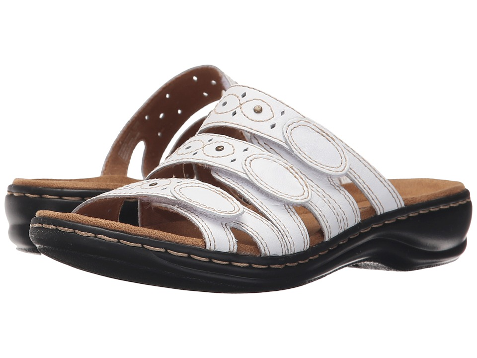 35e91e878e8  66.00 More Details · Clarks - Leisa Cacti Q (White Leather) Women s Sandals