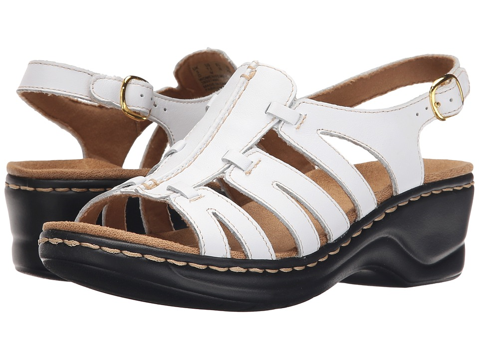 b1ada1ae0d7  70.00 More Details · Clarks - Lexi Marigold Q (White Leather) Women s  Sandals