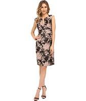 Adrianna Papell Lace Illusion Neck Party Dress Bridesmaid