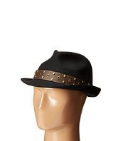 Wool Fedora with Teardrop Crown Hat CARLOS by Carlos Santana