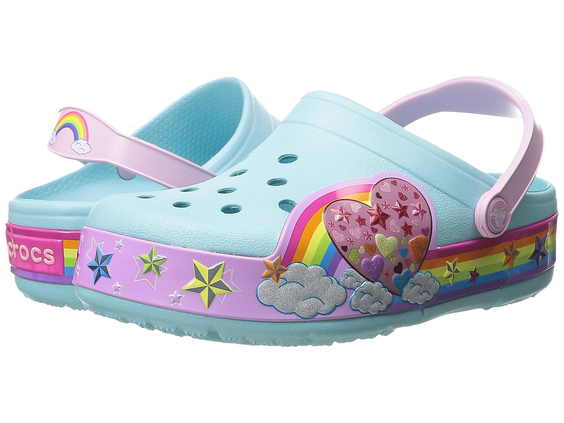 Rainbow Light Up Kids Shoes