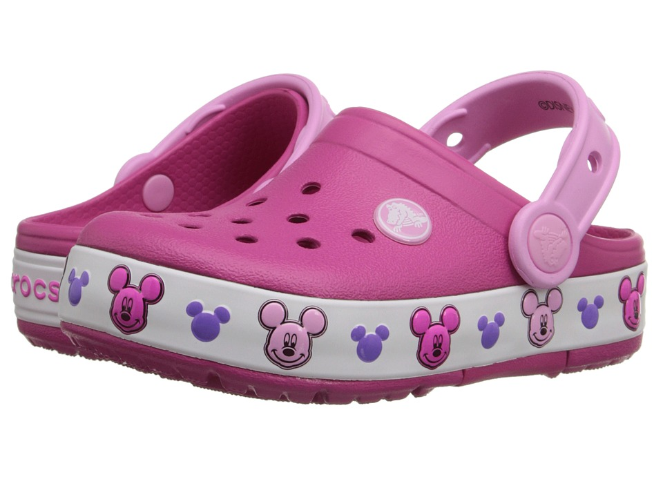 5c70b0a82b511d  29.99 More Details · Crocs Kids - CrocsLights Mickey Clog (Toddler Little  Kid) (Candy Pink)