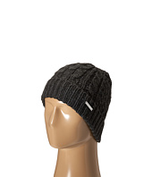 Ugg Classic Tall Stripe Cable Knit Chocolate Heathered